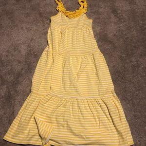 Girl size 7 summer maxi dress